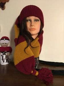 Unisex Harry Potter Inspired Winter Scat (hat n scarf in 1) Kitchener / Waterloo Kitchener Area image 1