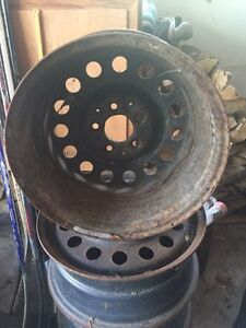 Four Steel Wheels - 16 in. Ideal for winter tires West Island Greater Montréal image 3