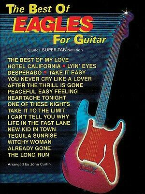 The Best of Eagles for Easy Guitar Sheet Music Tablature Book NEW 000322481 on Rummage