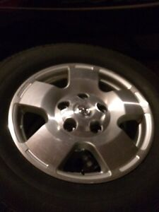 "Toyota Tundra Snow Tires and 18"" Alloys Peterborough Peterborough Area image 1"
