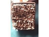 LARGE BOX OF KINDLING/FIREWOOD