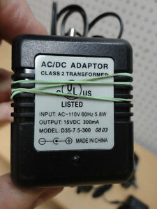 Assortment of AC Power Adapters -See Pictures for Voltages $5/ea Kitchener / Waterloo Kitchener Area image 2