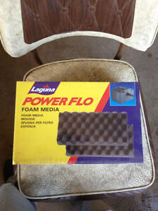 2 new Laguna Powerflo foam media
