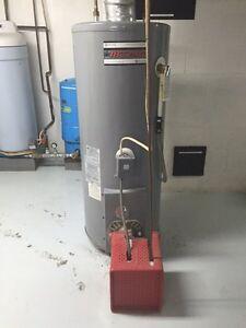 Chauffe eau, réservoir eau chaude