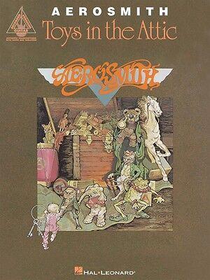 Aerosmith Toys in the Attic - Sheet Music Guitar Tablature Book - NEW 000690146