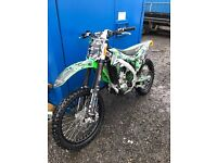 Kxf 450 2016 road legal 66 plate very low hours