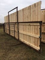 Windbreakers  corral panels for sale