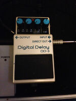 BOSS Digital Delay Pedal