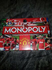 Manchester united monopoly game. New