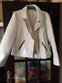 White jacket size 18