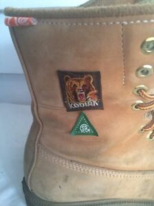 Men's Thinsulate KODIAK CONSTRUCTION BOOTS SIZE 9 Cornwall Ontario image 2