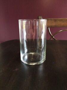 20 vases en verre idéal pour décoration de table pour mariage