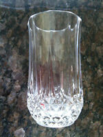 4 LONGCHAMPS CRYSTAL WATER GLASS