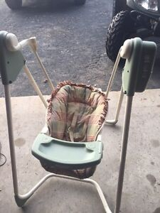 Brand new baby swing never used.