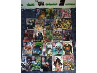 Collection 2000 and judge dredd comics