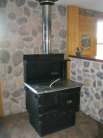 Bakers Choice Wood Cookstove Brand New Starts @ $1,575.00