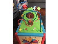 Children's activity cube