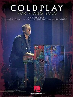 Coldplay for Piano Solo Sheet Music Piano Solo Book NEW 000307637