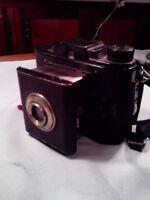Antique Ansco Clipper Polaroid Camera