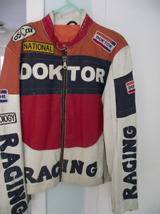 OSCAR Leopold - RACING DOKTOR LEATHER JACKET FOR SALE