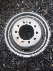 "16"" Dually rims.  10 bolt.  7.25 inches across.  Prince George British Columbia image 2"