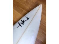 "Tiki Surfboard Shortboard 6ft 8"""