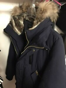 Mint condition Mackage Dixon Navy