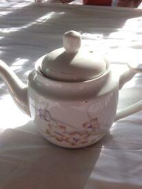 Chinese print teapot