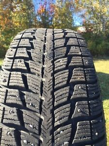 225/60/R17 studded winter tires on rims