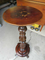 BAETZ 1940S ALL WOOD PLANT STAND FROM AUNTS ESTATE