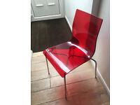 John Lewis Gel Chrome Chair