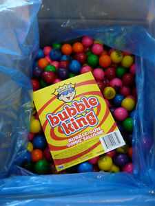 $55.00 per case . Assorted Gumballs Gum 850 Count. Vending