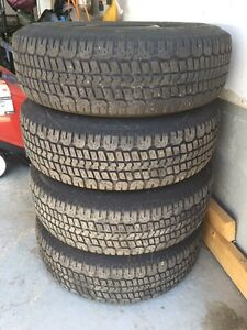 Winter Tires and Rims in very good condition