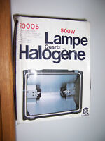 500 WATT HALOGEN FLOODLIGHT (NEW)
