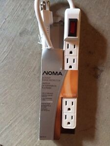 Brand New Noma 6-Outlet Surge Protector Kingston Kingston Area image 1