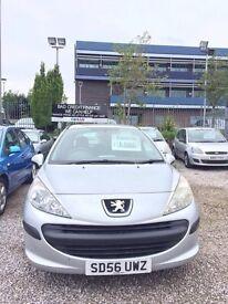 Peugeot 206 2006 1.4 low miles