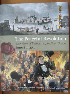 THE PEACEFUL REVOLUTION by John Boileau (Signed)