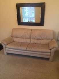 3 seat sofa, chair and storage box for sale