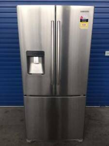 FRIDGE/FREEZER- SAMSUNG 540L STAINLESS (3 MONTHs WARRANTY)