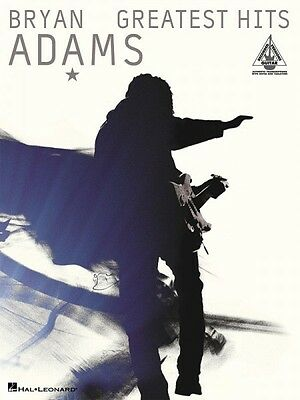 Bryan Adams Greatest Hits Sheet Music Guitar Tablature NEW 000690501