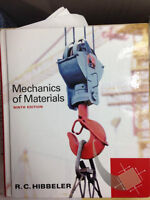 Mechanics of Materials (Ninth Edition) textbook for sale