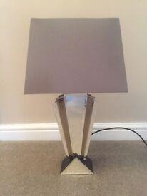 BHS Art Deco Style Lamp
