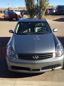 2006 infinity g35x awd sedan 130000 kms *carproof included