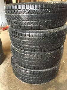4 winter 235/75/15 Bfgoodrich installation available