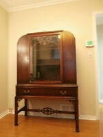 Antique Hutch Refinished $400