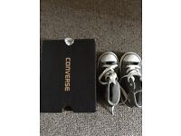 Brand new converse boy shoes infant UK8