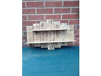 Handmade Rustic Shelf