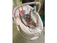 Baby comfort and harmony bouncing chair