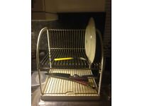 Great condition stylish 2 tier dish drainer