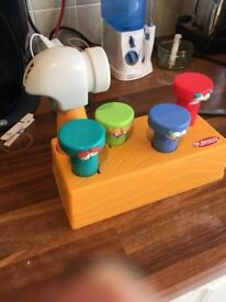 Children Toy - Hammer & Retractable Nails
